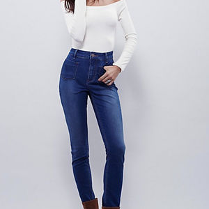 Free People Beverely High-Rise Skinny